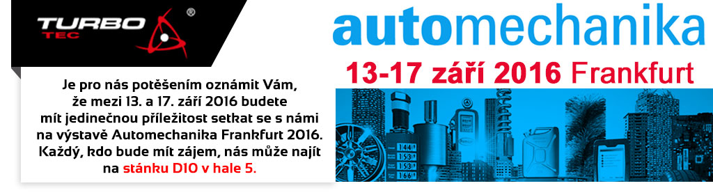 Turbo-Tec Automechanika 2016