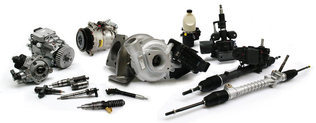 Turbochargers and injection diesel systems, power steering racks